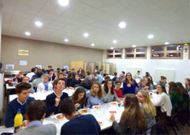 Dinner for final-year students (St Jean de Passy)